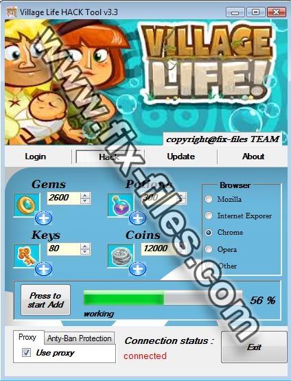 Village Life Hack tool