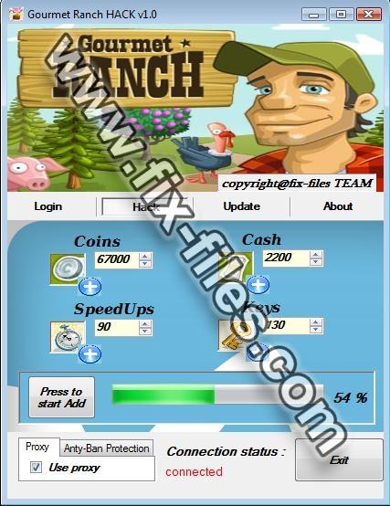 Gourmet Ranch Hack